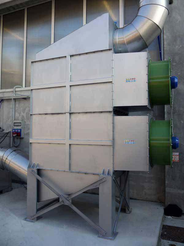 Realizzazione impianti aspirazione photogallery pag 8 - Scambiatore di aria ...